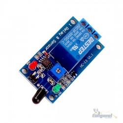 Modulo Rele Sensor De Chamas